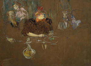 Art Prints of Table of Monsieur and Madame Natanson by Henri de Toulouse-Lautrec