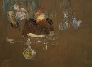 Art Prints of Table of Monsieur and Madame Natanson by Henri de Toulouse-Lautrec