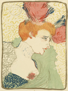Art Prints of Mademoiselle Marcelle Lender by Henri de Toulouse-Lautrec