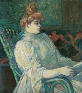 Art Prints of Madame Marthe X Bordeaux by Henri de Toulouse-Lautrec