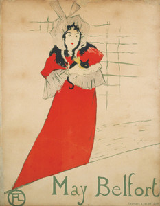 Art Prints of May Belfort by Henri de Toulouse-Lautrec