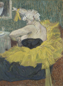 Art Prints of The Clown Cha U Kao by Henri de Toulouse-Lautrec