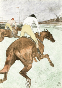 Art Prints of The Jockey by Henri de Toulouse-Lautrec