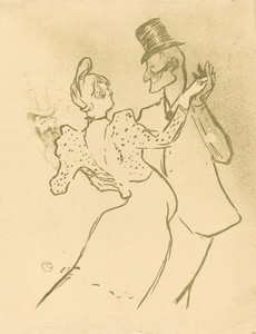Art Prints of La Goulue, 1894 by Henri de Toulouse-Lautrec
