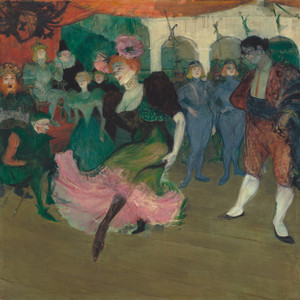 Art Prints of Marcelle Lender Dancing the Bolero by Henri de Toulouse-Lautrec