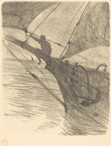 Art Prints of Oceano Nox, 1895 by Henri de Toulouse-Lautrec