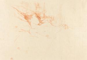 Art Prints of Sleep, 1896 by Henri de Toulouse-Lautrec