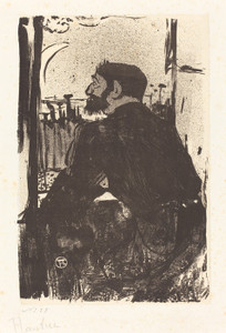 Art Prints of Sleepless Night, 1893 by Henri de Toulouse-Lautrec