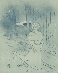 Art Prints of The Manor Lady or The Omen, 1893 by Henri de Toulouse-Lautrec