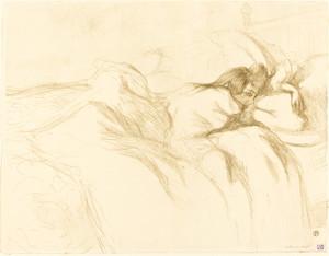 Art Prints of Woman Asleep, 1896 by Henri de Toulouse-Lautrec