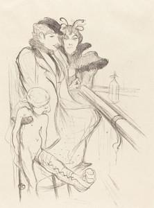 Art Prints of Wounded Eros by Henri de Toulouse-Lautrec