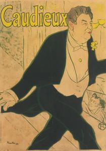 Art Prints of Caudieux by Henri de Toulouse-Lautrec