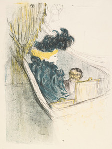 Art Prints of Idylle Princiere by Henri de Toulouse-Lautrec