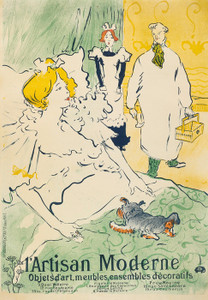 Art Prints of L'Artisan Moderne by Henri de Toulouse-Lautrec