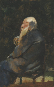 Art Prints of Old Man, Back by Henri de Toulouse-Lautrec