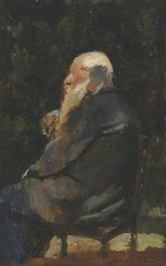 Art Prints of Old Man, Back by Henri de Toulouse-Lautrec