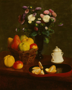 Art Prints of Flowers and Fruit by Henri Fantin-Latour