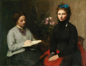 Art Prints of The Reading by Henri Fantin-Latour