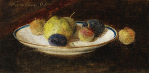 Art Prints of Fruit Plate by Henri Fantin-Latour