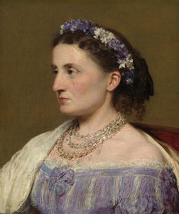 Art Prints of Duchess de Fitz-James by Henri Fantin-Latour