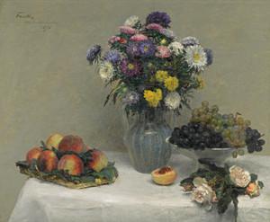 Art Prints of Fruit and Flowers by Henri Fantin-Latour