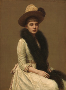 Art Prints of Portrait of Sonia by Henri Fantin-Latour