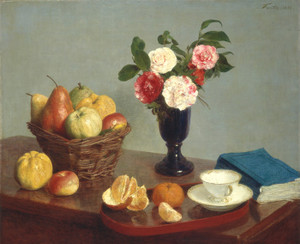 Art Prints of Still Life 1866 by Henri Fantin-Latour