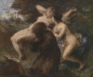 Art Prints of The Temptation of Saint Anthony by Henri Fantin-Latour