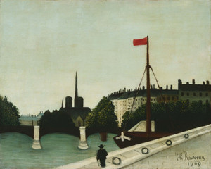 Art Prints of Notre Dame by Henri Rousseau
