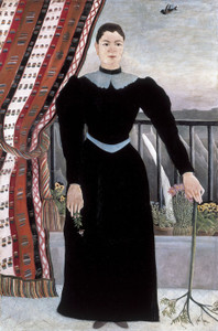 Art Prints of Portrait of a Woman by Henri Rousseau