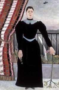 Art Prints of Portrait of a Woman by Henri Rousseau