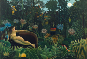 Art Prints of The Dream by Henri Rousseau