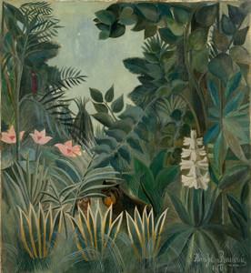 Art Prints of The Equatorial Jungle by Henri Rousseau