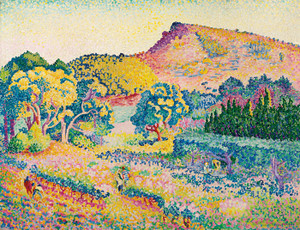 Art Prints of Cape Negro landscape by Henri-Edmond Cross