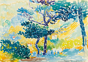 Art Prints of Provincial Landscape by Henri-Edmond Cross