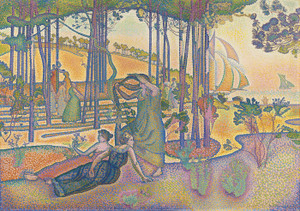 Art Prints of The Evening Air by Henri-Edmond Cross