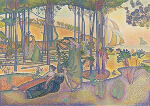 Art Prints of The Evening Air by Henri-Edmond Cross