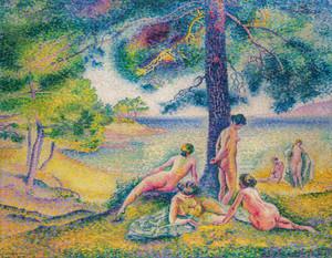Art Prints of Shaded Beach by Henri-Edmond Cross