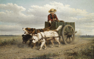 Art Prints of The Journey Home by Henriette Ronner Knip