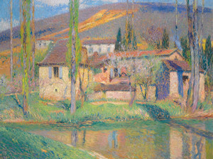 Art Prints of Labastide by Henri-Jean Guillaume Martin