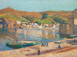 Art Prints of Suburb of Collioure by Henri-Jean Guillaume Martin