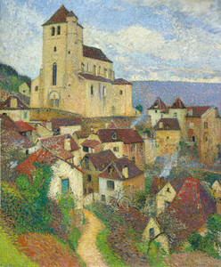 Art Prints of Saint-Cirq-Lapopie by Henri-Jean Guillaume Martin