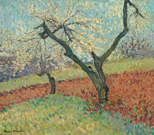 Art Prints of The Old Plum by Henri-Jean Guillaume Martin