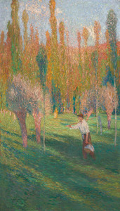 Art Prints of The Reaper by Henri-Jean Guillaume Martin
