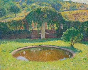 Art Prints of Tonnelle Basin and Southwest Park by Henri-Jean Guillaume Martin