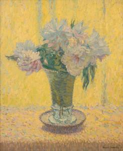 Art Prints of Vase of Flowers II by Henri-Jean Guillaume Martin