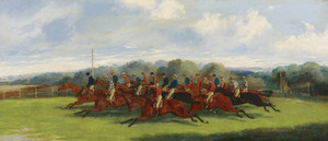 Art Prints of The Start of the Derby by Henry Thomas Alken