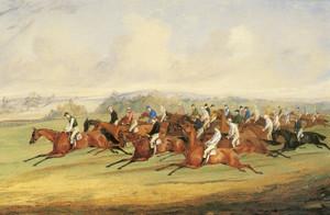 Art Prints of The Start of the Derby II by Henry Thomas Alken