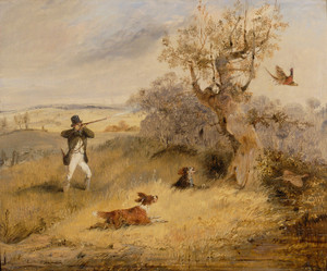 Art Prints of Pheasant Shooting by Henry Thomas Alken