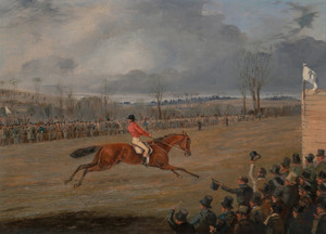 Art Prints of Scene from a Steeplechase, the Winner by Henry Thomas Alken